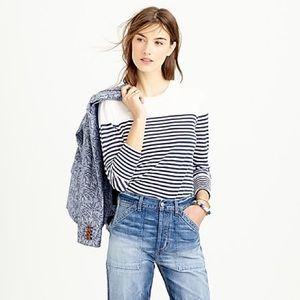 J.Crew Lightweight Stripes Sweater